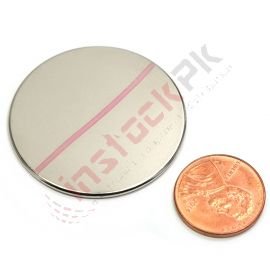 "Super Strong Neodymium N45 Disk Magnet 1.5"" x 1/16"""