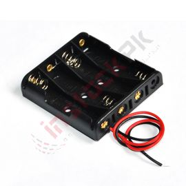 4 x 1.5V Batteries Holder Case