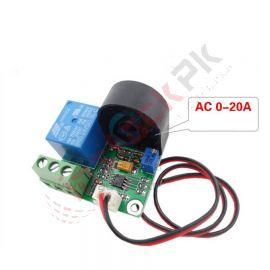 Current Detection Sensor Module 0-20A AC Short-Circuit Protection