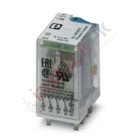 Phoenix Contact: Single relay - REL-IR4/LDP- 12DC/4X21 - 2903676