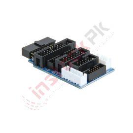 Multifunction Adapter Board For JTAG JLINK V8 V9 ULINK2 ST-Link ARM STM32