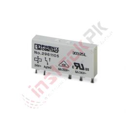 Phoenix Contact Single Relay- REL-MR- 24DC21 (2961105)