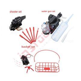 Quadcopter Accessories (Water Gun+Shooter+Basket)