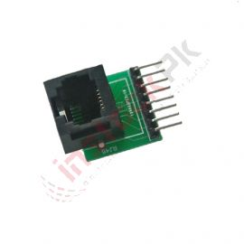 RJ45 8-Pin Connector With Board