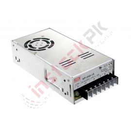 Mean Well - Enclosed Switching Power Supply with Active PFC SP-240-24 - 240W 24V 10A