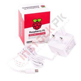 Raspberry Pi: Official RPi 4 Power Supply USB-C 15.3W (5.1V 3A)